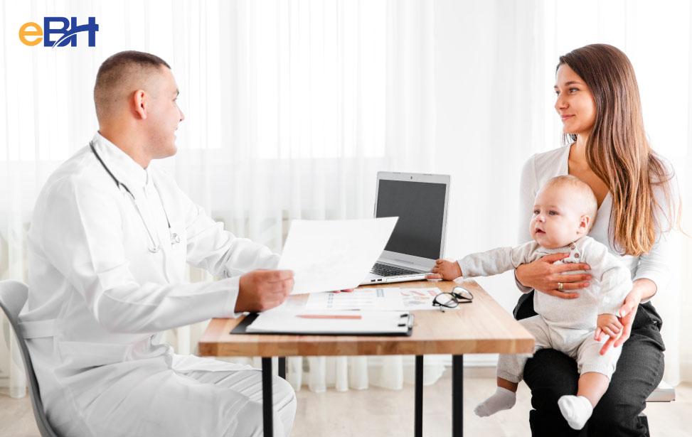 Lao động xin xác nhận của cơ sở y tế để bổ sung hồ sơ hưởng chế độ nghỉ dưỡng sức sau sinh.