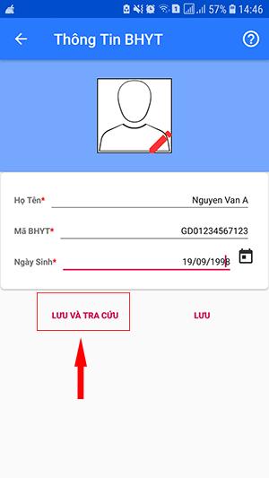 hướng dẫn tra cứu trên điện thoại thông qua ứng dụng