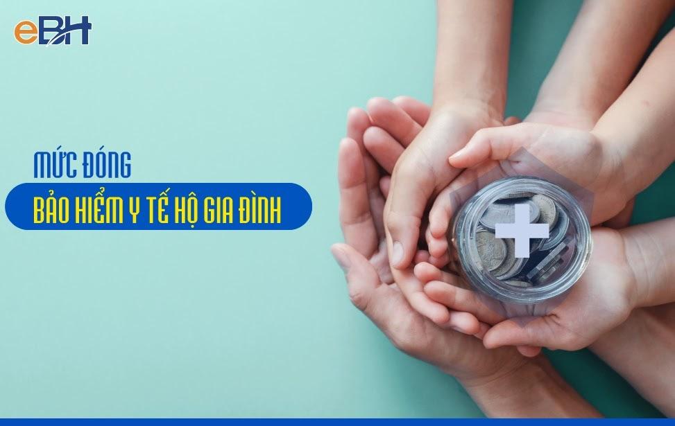 Mức đóng bảo hiểm y tế hộ gia đình